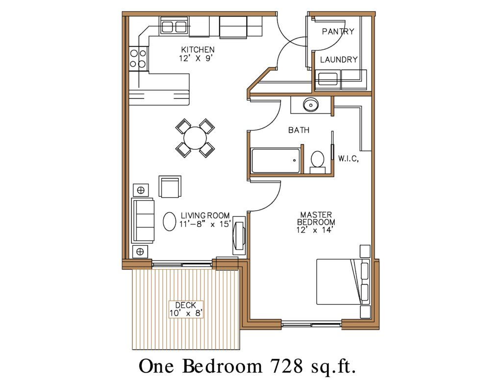 1 Bedroom Apartment at Northview Apartment Homes