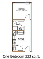 Harford one bedroom apartment